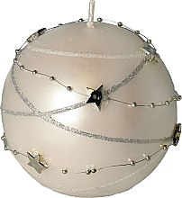 Düfte, Parfümerie und Kosmetik Dekorative Kerze Garland, Weiß - Artman Christmas Candle Garland Ø10cm