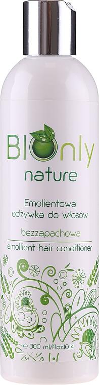 Aufweichender unparfümierter Conditioner für hochporöses, trockenes und strapaziertes Haar - BIOnly Nature Emollient Hair Conditioner — Bild N1