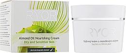 Düfte, Parfümerie und Kosmetik Pflegende Creme mit Mandelöl - Ryor Face Care