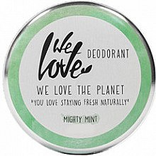 Düfte, Parfümerie und Kosmetik Deo-Creme Mighty Mint - We Love The Planet Mighty Mint Cream Deodorant