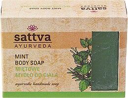 Düfte, Parfümerie und Kosmetik Sanfte Glycerinseife für den Körper Mint - Sattva Hand Made Soap Mint