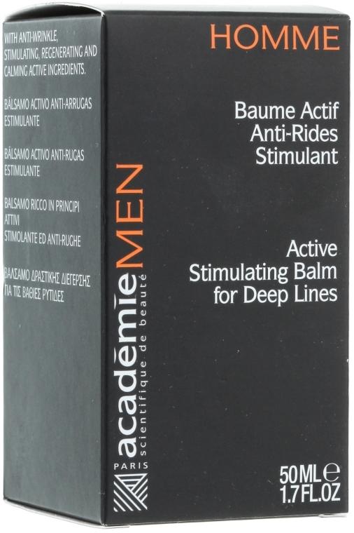 Aktiv-Balsam mit Falten glättender Wirkung für Männer - Academie Homme Balm — Bild N1