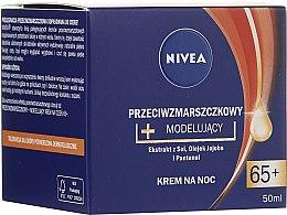 Düfte, Parfümerie und Kosmetik Anti-Falten Nachtcreme 65+ - Nivea Anti-Wrinkle Night Cream 65+