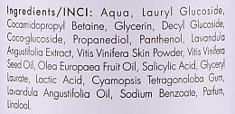 Normalisierendes und feuchtigkeitsspendendes Shampoo mit Lavendel und Weintraube - Biolaven Organic — Bild N3