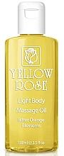 Düfte, Parfümerie und Kosmetik Massageöl mit Orangenblüten - Yellow Rose Light Body Massage Oil Bitter Orange Blossoms