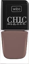 Düfte, Parfümerie und Kosmetik Matter Nagellack - Wibo Chic Matte