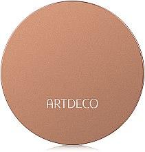 Bronzepuder mit LSF 12 - Artdeco Bronzing Powder Compact SPF12 — Bild N2