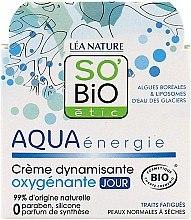 Düfte, Parfümerie und Kosmetik Dynamische sauerstoffreiche Tagesgel- Creme - So'Bio Etic Aqua Energie Dynamic Oxygen-Rich Gel Day Cream