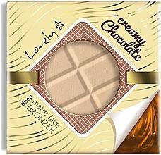 Düfte, Parfümerie und Kosmetik Cremiger mattierender Bronzer - Lovely Creamy Chocolate Deep Matte Bronze