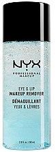 Düfte, Parfümerie und Kosmetik Make-up Entferner für Augen und Lippen - NYX Professional Makeup Eye & Lip Makeup Remover