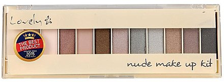 Lidschattenpalette - Lovely Nude Make Up Kit — Bild N1