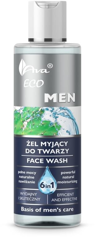 6in1 Gesichtsreinigungsgel für Männer - Ava Laboratorium Eco Men Gel — Bild N1