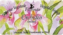 Düfte, Parfümerie und Kosmetik Naturseife Orchideen - Florinda Sapone Vegetale Vegetal Soap Orchid