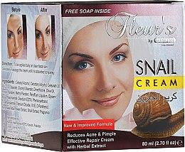 Düfte, Parfümerie und Kosmetik Reparierende Gesichtscreme gegen Akne und Pickel mit Schneckenextrakt - Hemani