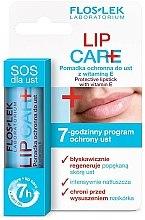 Düfte, Parfümerie und Kosmetik Schützender Lippenbalsam mit Vitamin E - Floslek Lip Care Protective Lipstick With Vitamin E 1%