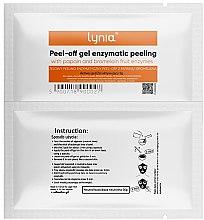 Düfte, Parfümerie und Kosmetik Peel-Off-Gelmaske für das Gesicht mit Enzymen - Lynia Peel Off Gel Enzymatic Peeling