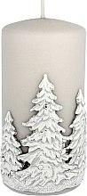 Düfte, Parfümerie und Kosmetik Dekorative Kerze Winter Trees - Artman Christmas Candle Winter Trees Ø7xH14cm