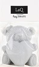 Handgemachte Naturseife Teddybär mit Ananasduft - LaQ Happy Soaps Natural Soap — Bild N2