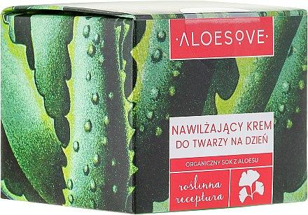 Feuchtigkeitsspendende Tagescreme - Aloesove — Bild N1