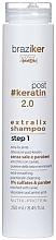 Düfte, Parfümerie und Kosmetik Intensiv glättendes Shampoo nach Keratinbehandlung mit Kaviar, Seidenprotein und Aminosäuren - Braziker Keratin Straightening Shampoo