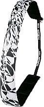 Düfte, Parfümerie und Kosmetik Haarband weiß-schwarz abstrakt - Ivybands Abstract Art Hair Band