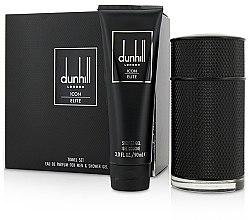 Düfte, Parfümerie und Kosmetik Alfred Dunhill Icon Elite - Duftset (Eau de Parfum 100ml + Duschgel 90ml)
