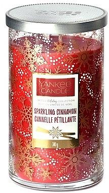 Duftkerze im Glas Sparkling Cinnamon - Yankee Candle Sparkling Cinnamon Holiday Limited Collections — Bild N1