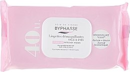 Düfte, Parfümerie und Kosmetik Reinigungstücher - Byphasse Make-up Remover Wipes Milk Proteins All Skin Types