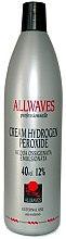 Düfte, Parfümerie und Kosmetik Creme-Oxidationsmittel 12% - Allwaves Cream Hydrogen Peroxide 12%