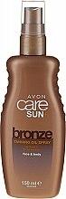 Düfte, Parfümerie und Kosmetik Feuchtigkeitsspendender Ölspray für intensive Bräune - Avon Sun Care+