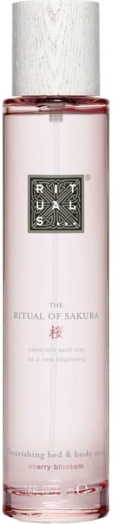 Bett- und Körperspray mit Kirschblüten und Reismilch - Rituals The Ritual Of Sakura Body Mist — Bild N1
