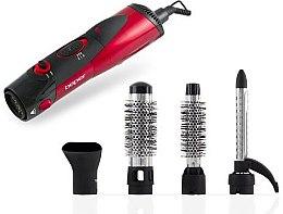 Düfte, Parfümerie und Kosmetik 4in1 Elektrische Haarbürste 40.989 rot - Beper