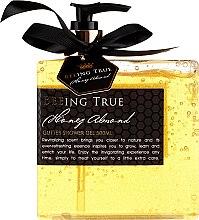 Düfte, Parfümerie und Kosmetik Luxuriöses Duschgel mit Honig und Mandel - Beeing True Almond Honey Shower Gel