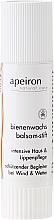 Düfte, Parfümerie und Kosmetik Intensiv pflegender und schützender Lippenbalsam-Stift mit Bienenwachs - Apeiron Bienenwachs Balsam-Stift