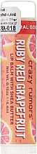"Lippenbalsam ""Rubinrote Grapefruit"" - Crazy Rumors Pink Grapefruit Juice Lip Balm — Bild N1"