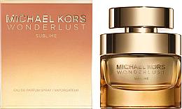 Düfte, Parfümerie und Kosmetik Michael Kors Wonderlust Sublime - Eau de Parfum