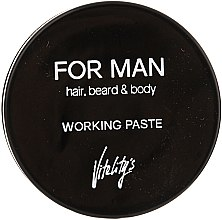 Düfte, Parfümerie und Kosmetik Mattierende Haarpaste - Vitality's For Man Working Paste