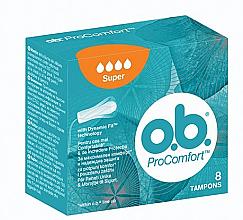 Düfte, Parfümerie und Kosmetik Tampons Super 8 St. - o.b. ProComfort Super Tampons