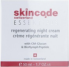 Düfte, Parfümerie und Kosmetik Regenerierende Nachtcreme - Skincode Essentials Regenerating Night Cream