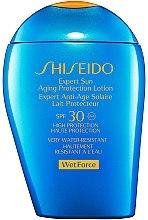 Düfte, Parfümerie und Kosmetik Anti-Aging Sonnenschutzlotion SPF 30 - Shiseido Expert Sun Aging Protection Lotion SPF 30
