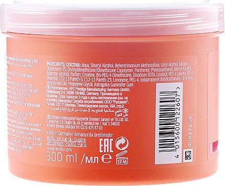 Pflegende und feuchtigkeitsspendende Maske für dünnes und normales Haar - Wella Professionals Enrich Moisturizing Treatment — Bild N4