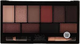 Düfte, Parfümerie und Kosmetik Lidschattenpalette - MUA Elysium Eyeshadow Palette