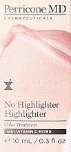 Düfte, Parfümerie und Kosmetik Highlighter mit Vitamin E - Perricone MD No Highlighter Highlighter