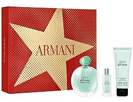 Düfte, Parfümerie und Kosmetik Giorgio Armani Acqua di Gioia - Duftset (Eau de Parfum 100ml + Körperlotion 75ml + Eau de Parfum 15ml)