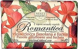 Düfte, Parfümerie und Kosmetik Naturseife Fiesole Gillyflower & Fuchsia - Nesti Dante Natural Soap Romantica Collection