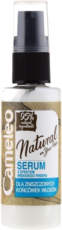 Serum für gespaltene Haarspitzen ohne Ausspülen - Delia Cameleo Natural On Your Hair Aqua Action Serum — Bild N2