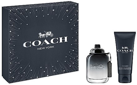 Coach For Men - Duftset (Eau de Toilette/60ml + Duschgel/100ml) — Bild N1