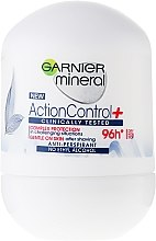 Düfte, Parfümerie und Kosmetik Deo Roll-on Antitranspirant - Garnier Mineral Action Control Clinically 96H Anti-Perspirant Roll-On