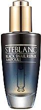 Düfte, Parfümerie und Kosmetik Gesichtsserum - Steblanc Black Snail Repair Ampoule