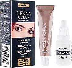 Düfte, Parfümerie und Kosmetik Cremefarbe für Augenbrauen - Venita Henna Color